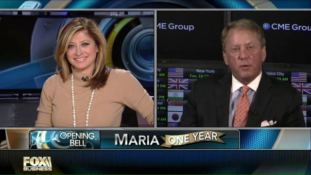 CME's Duffy puts Maria Bartiromo on the spot