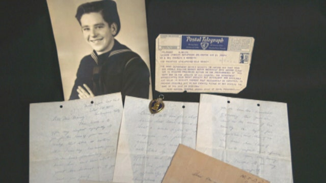 A family inherits rare letters written by a young JFK