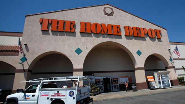 Home Depot shares get boost from U.S. sales surge