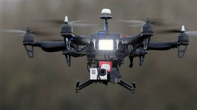 Mysterious drones spotted in Paris