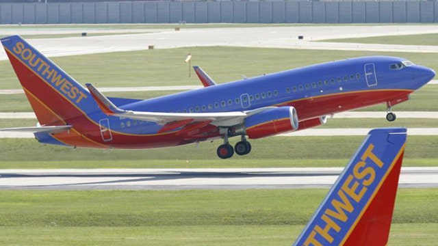 Southwest allowed to continue flying planes that missed inspections