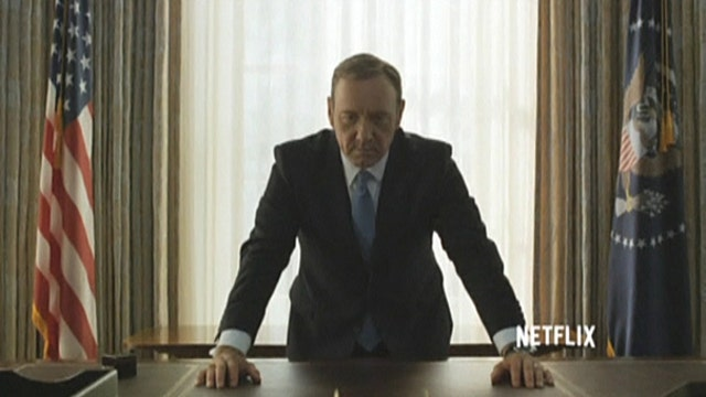 Netflix posts third season of 'House of Cards'