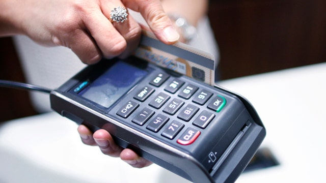 Credit card switch to chips moves slowly