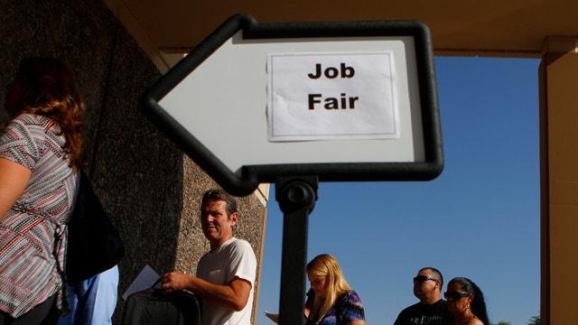 Markets eyeing unemployment data