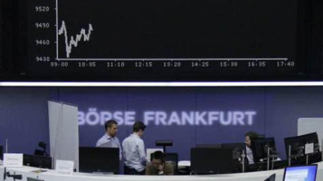 Strong German data boosts European shares