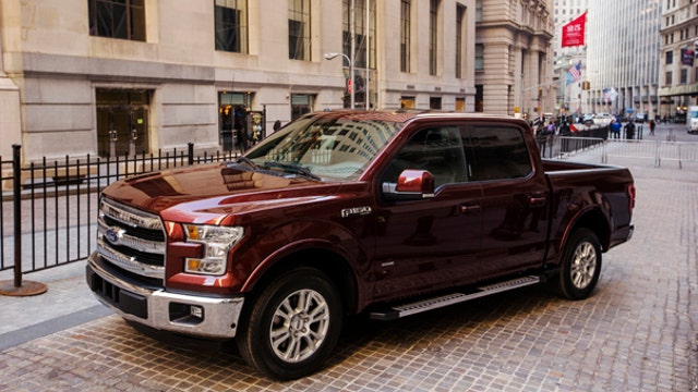 Ford shares fall on February sales