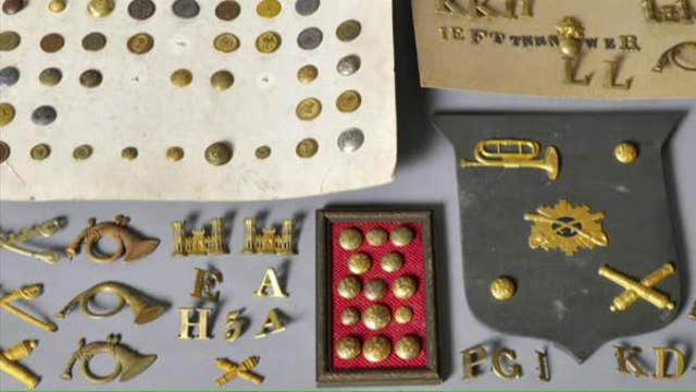 A lifetime's worth collection of military artifacts