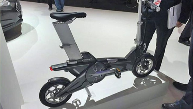 Ford unveils foldable electric bike