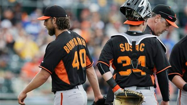 San Francisco Giants' roster for staying ahead of the game