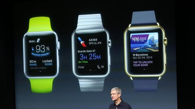 What are the new Apple Watch features?