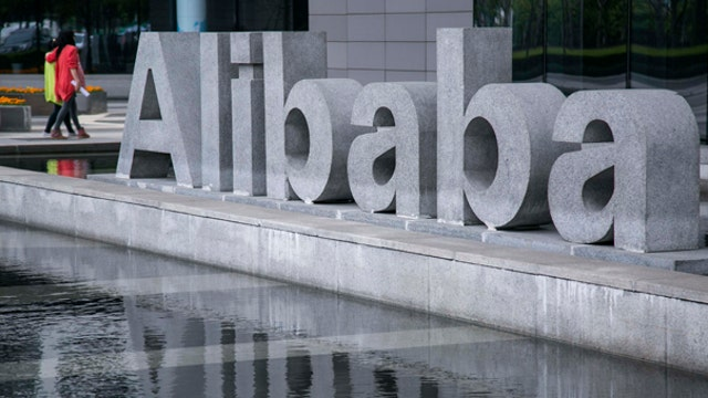 Alibaba shares rebound from all-time lows