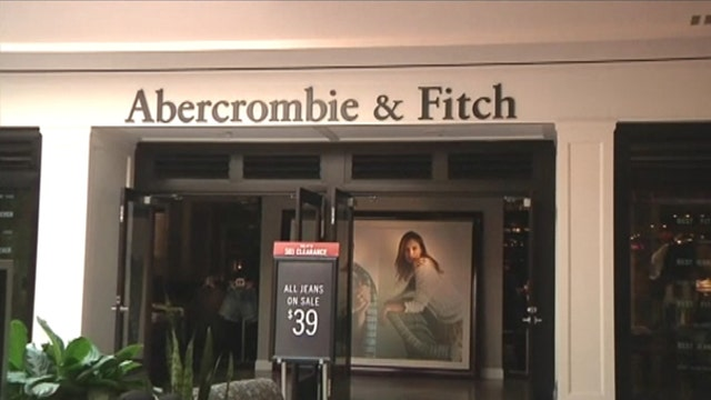 Abercrombie & Fitch shares fall on sales decline