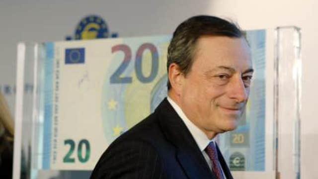 ECB raises growth forecasts