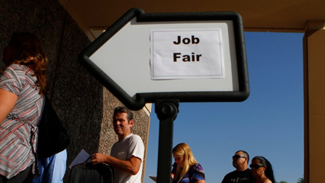 What the heck is going on with jobs?