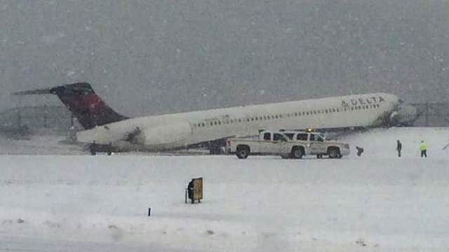 Weather conditions to blame for Delta accident at LaGuardia Airport?