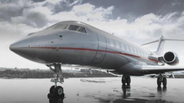 The growing popularity of private jet flights
