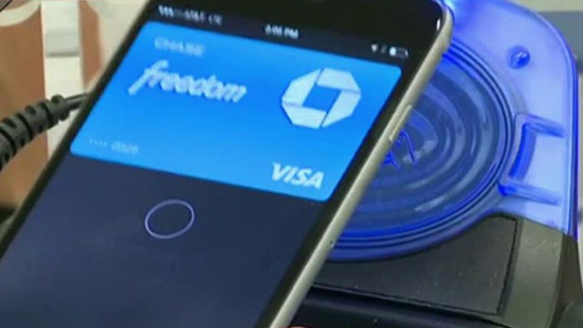 Fraudsters entering stolen credit cards into Apple Pay