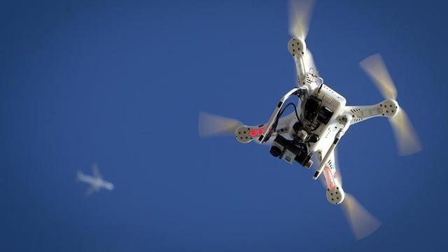 Drone innovation being taken to new heights