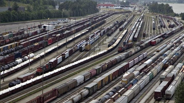 Why are railroad and railcar stocks taking a beating?