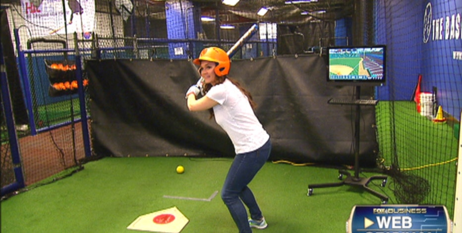 The Baseball Center NYC Executive Director Michael Lombardi on how the facility and its simulators helps baseball players improve their swing.