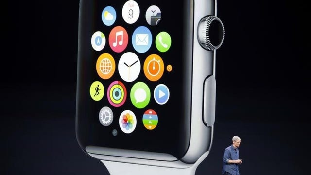 Apple's smartwatch competition