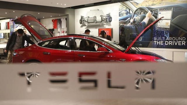 Tesla hits the brakes in China