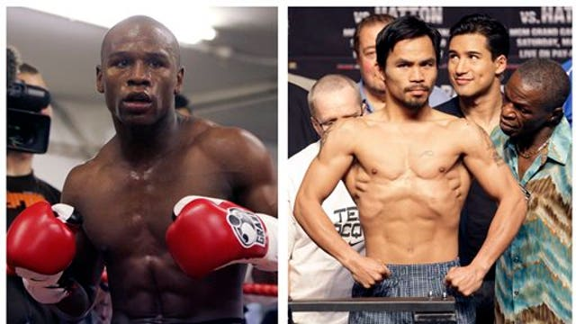 Mayweather, Pacquiao face off in first presser