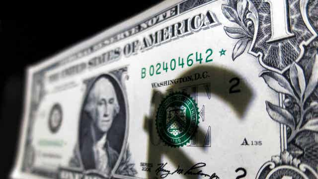 What does the strong dollar mean for the markets?