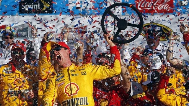 Why is NASCAR seeing a big boost in ratings and sponsorship?