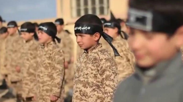 ISIS training child soldiers?