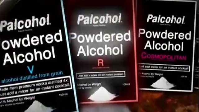 What are the potential dangers of powered alcohol?