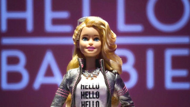 A Barbie doll that will talk to you?