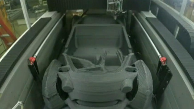 Make a car with a 3D printer?