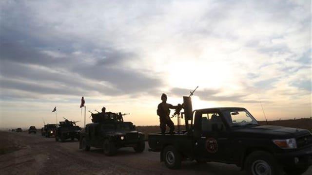 Iran gaining ground in Tikrit