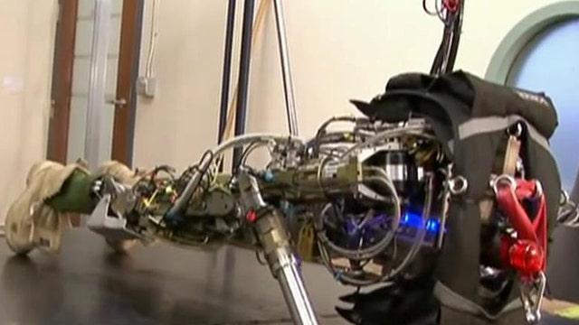The pushup-doing, stair-climbing, treadmill-running robot