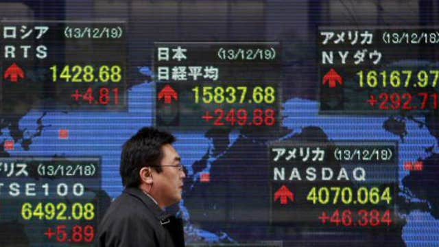 Asian shares mostly higher ahead of Fed meeting