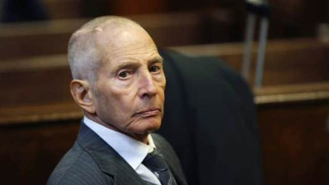 Robert Durst arrested on murder charges in New Orleans