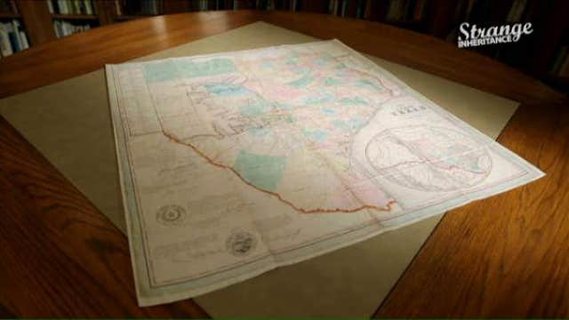 Historic Texas map: From childhood toy to life-changing asset