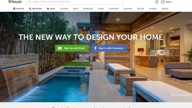 Houzz renovates online home design