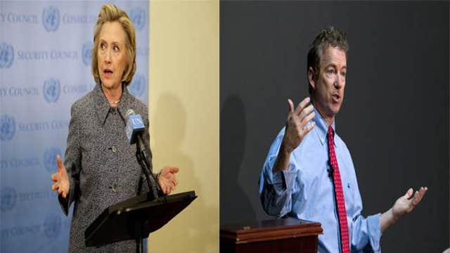 Hillary Clinton vs. Rand Paul in 2016?