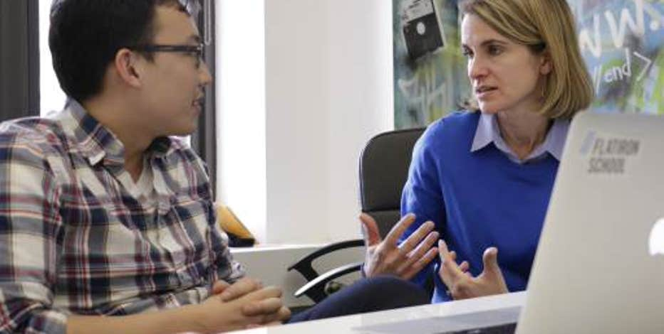 Kristi Riordan, COO of the Flatiron School, decided not to ditch her career in finance, but hit the refresh button and learn how to meld her passion for education with her expertise in financial services.