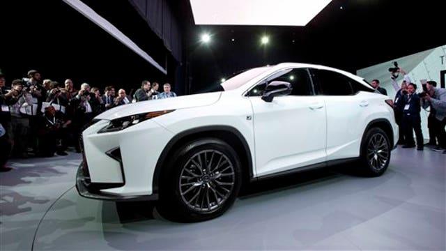 Lexus RX's bold new design