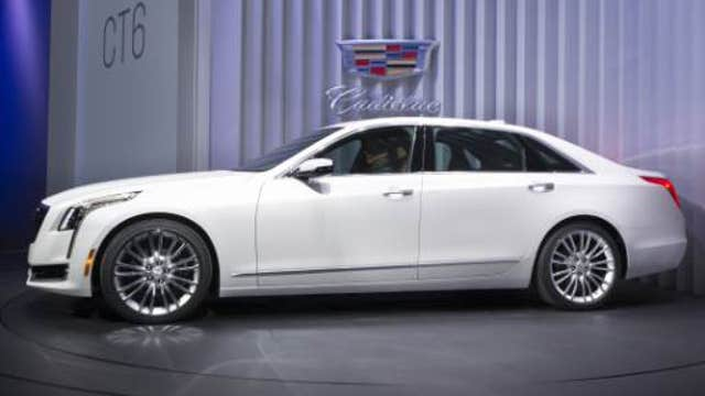 Cadillac unveils new CT6 at New York auto show