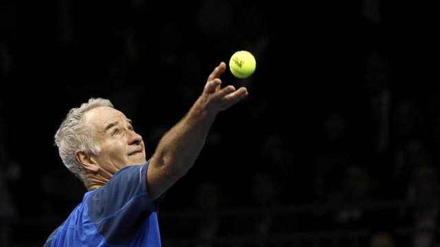 Pro Tennis Champions John McEnroe and Andy Roddick on the new technology replacing linespeople.