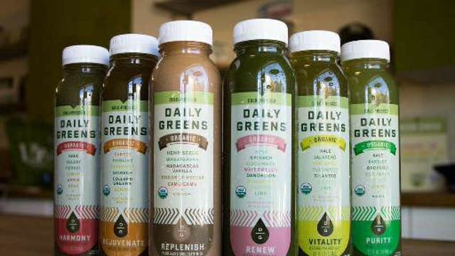 FBN's Charles Payne on how a breast cancer survivor turned her passion for green juices into a successful business.