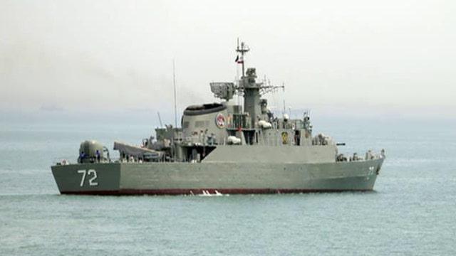Iran unleashes warships to Yemen