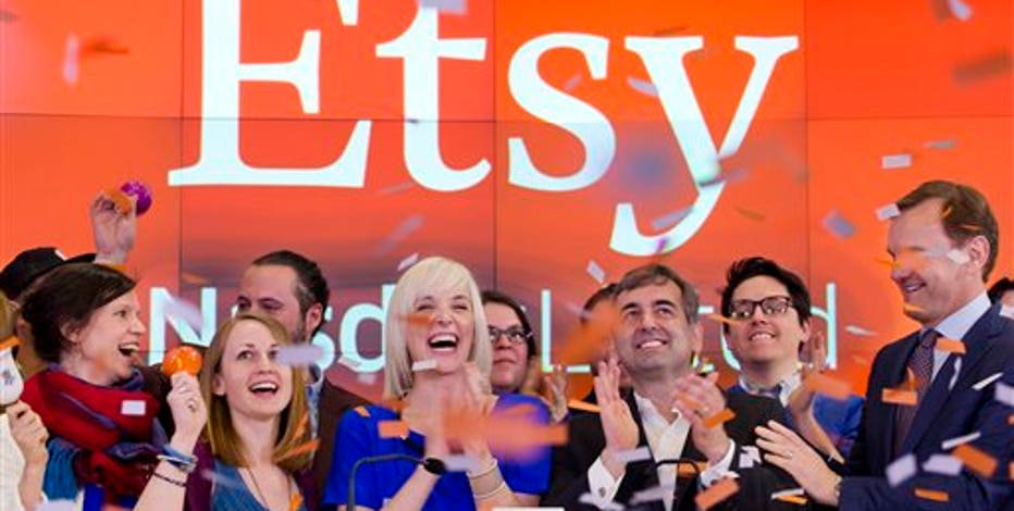 Craft marketplace Etsy debuts on the NASDAQ today. Will investors bite? FBN's Jo Ling Kent spoke with top seller AHeirloom about the company's crafty consumers.