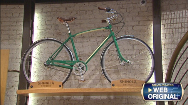 Shinola CEO Steve Bock on the company's new luxury bike and efforts to bring manufacturing back to the U.S. and particularly Detroit.