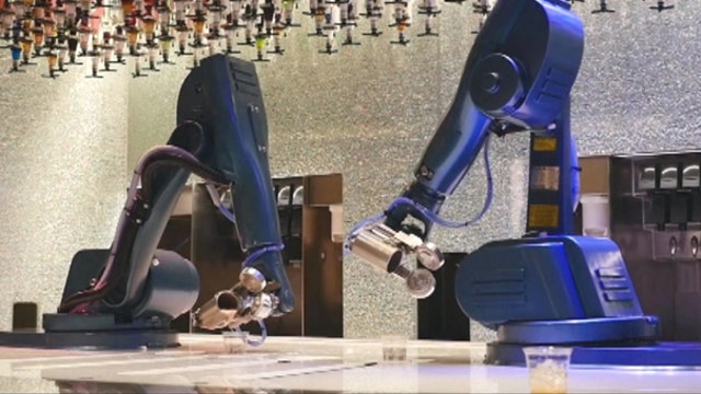 FP1 Strategies V.P. of Communications Ashley Pratte, Democratic Strategist Chuck Rocha and FBN's Neil Cavuto on the potential for robots taking over minimum wage jobs.