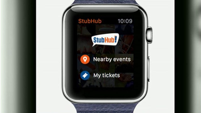 Buy concert tickets on your Apple Watch